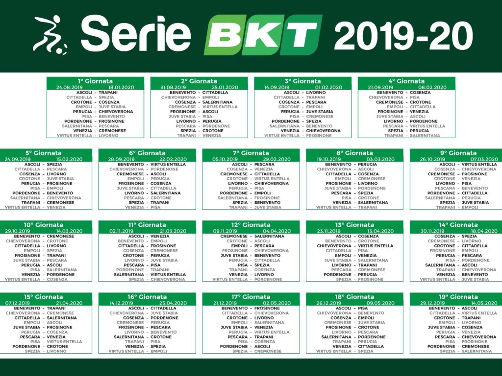Calendario Entella.Serie B Il Calendario Debutto In Trasferta E Derby Al