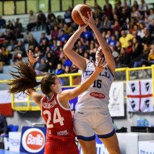 Sara Madera Italia Italy - Repubblica Ceca Czech Republic FIBA Women's Eurobasket 2021 Qualifiers FIP2019 Femminile Senior Cagliari, 14/11/2019 Foto L.Canu / Ciamillo-Castoria