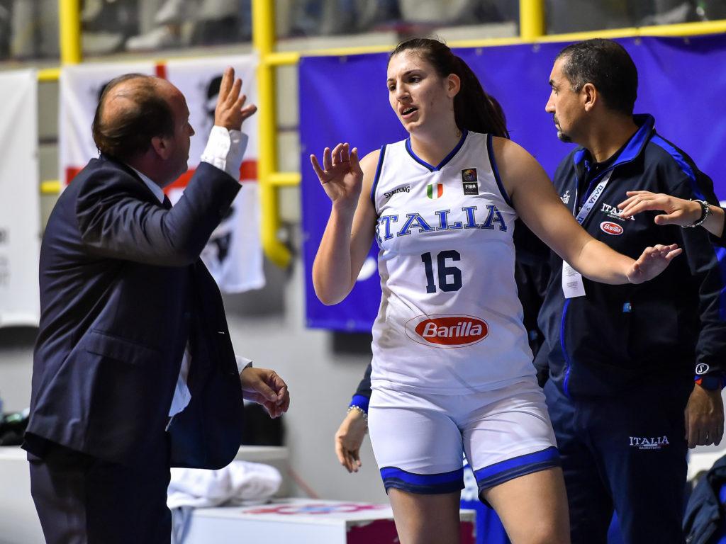 Andrea Capobianco, Sara Madera Italia Italy - Repubblica Ceca Czech Republic FIBA Women's Eurobasket 2021 Qualifiers FIP2019 Femminile Senior Cagliari, 14/11/2019 Foto L.Canu / Ciamillo-Castoria