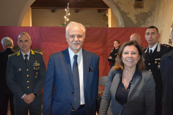 IL NUMERO UNO DELLA PORT AUTHORITY STEFANO CORSINI INSIEME ALLA MINISTRA PAOLA DE MICHELI