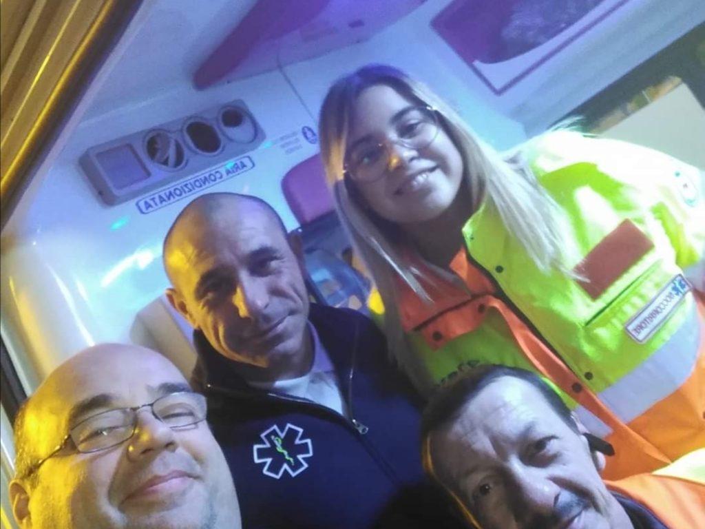 Squadra SVS della notte in via San Giovanni