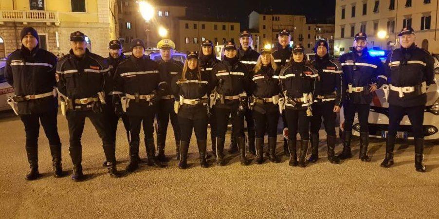 La polizia municipale
