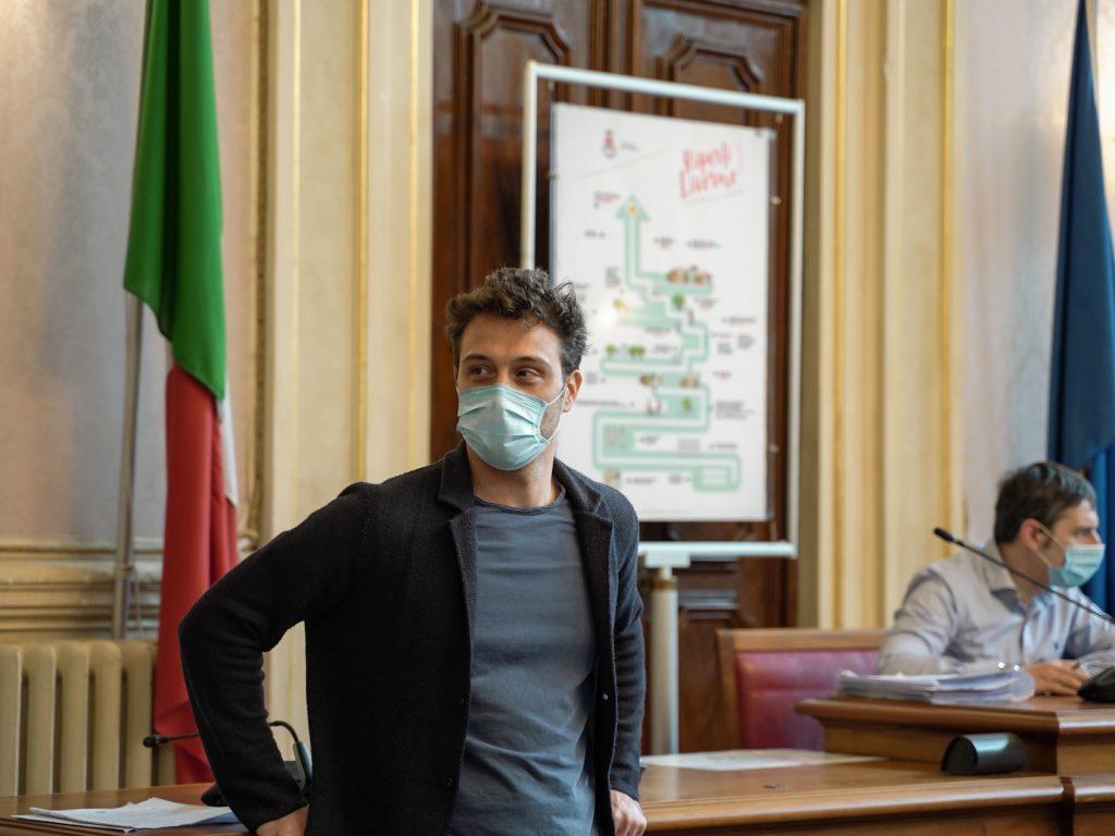 L'ASSESSORE AL SOCIALE ANDREA RASPANTI (foto Amore Bianco)