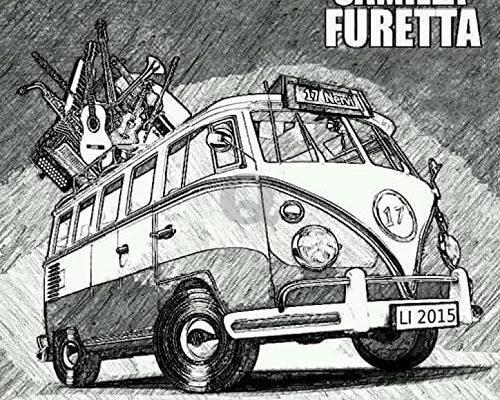 """LA COPERTINA DELL'ALBUM D'ESORDIO DI CAMILLA FURETTA """"17 NERVI"""""""
