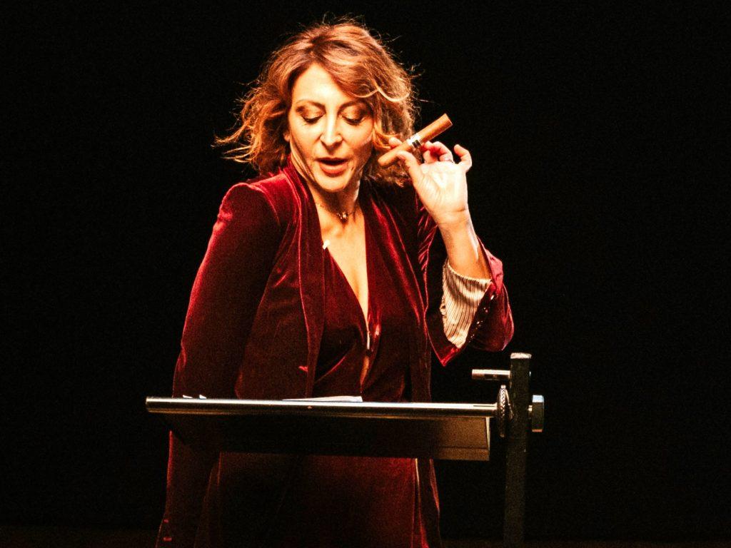 Paola Minaccioni (ph Filippo Ascione)