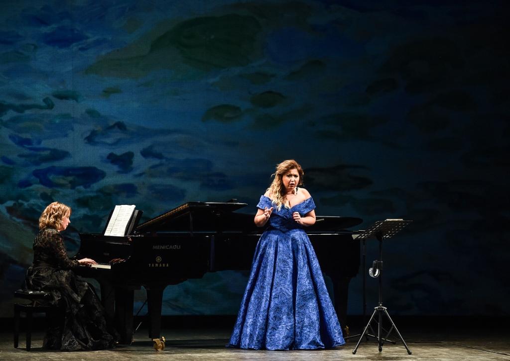 Livorno, Teatro Goldoni, 12 Dicembre 2020  Concerto Lirico - Soprano RANCATORE Desirée  Foto: TRIFILETTI Andrea / Bizzi Augusto