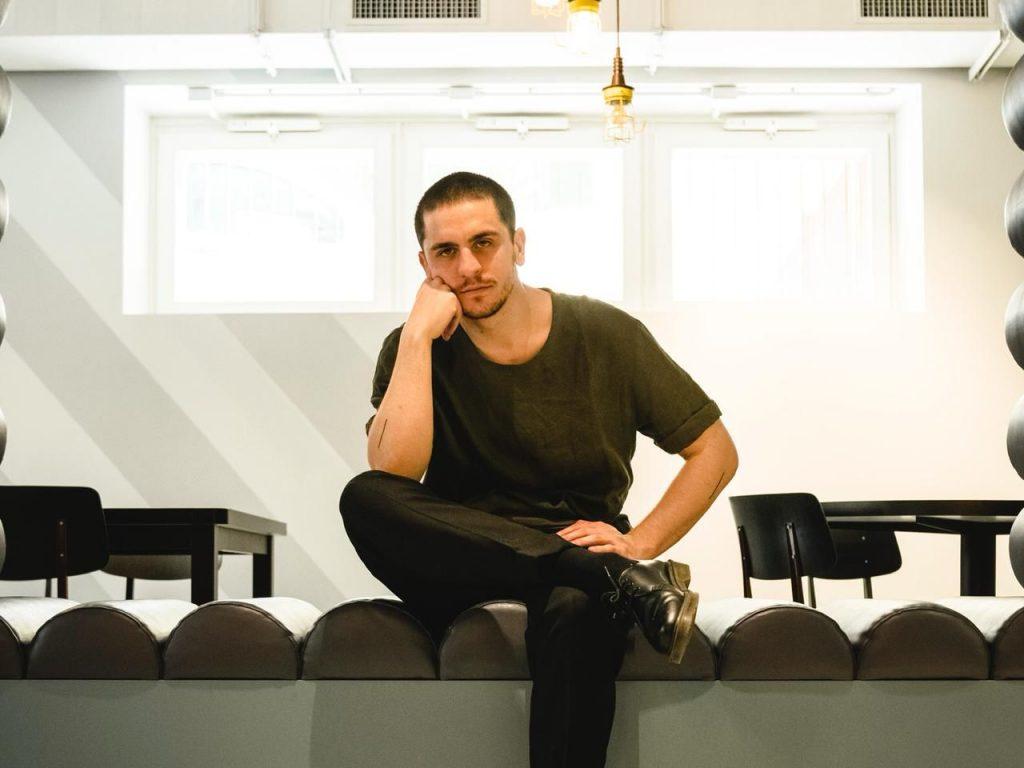 Roberto Doveri in una FOTO di LEOPARDO DAVID