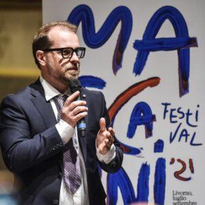 IL DIRETTORE ARTISTICO DEL FESTIVAL MASCAGNI, MARCO VOLERI (foto Bizzi/Trifiletti)